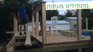 Каркасный бассейн Intex с деревянной террасой(, 2016-03-25T03:46:55.000Z)