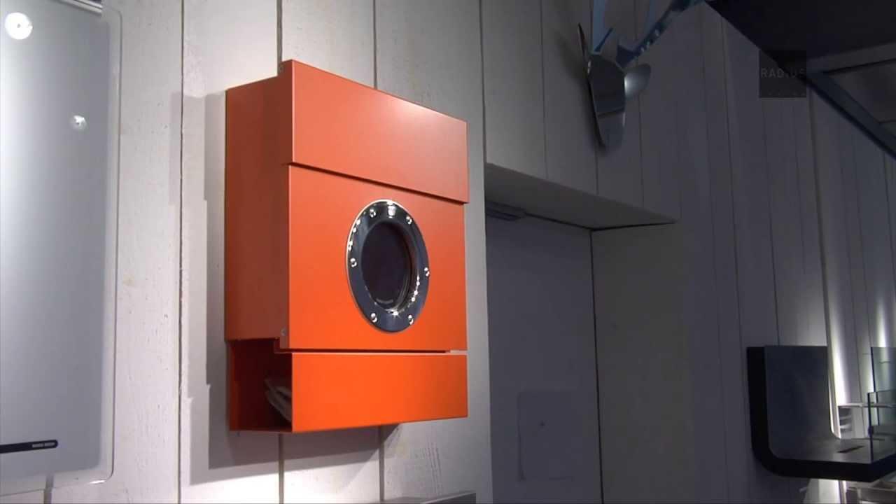 briefkasten letterman 2 radius design youtube. Black Bedroom Furniture Sets. Home Design Ideas