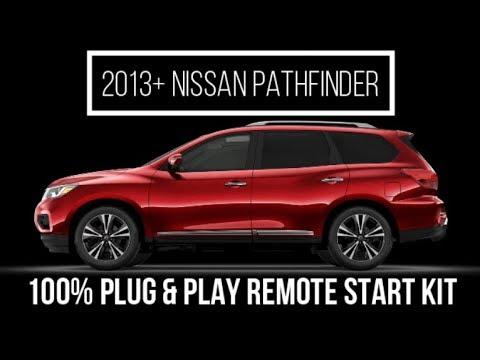 2013+-nissan-pathfinder-plug-&-play-remote-start-kit---10-minute-install!