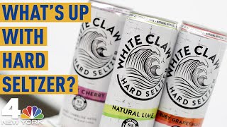 Why Does Everyone Love Hard Seltzer? What to Know About White Claw, Bon & Viv & More | NBC New York