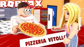 WE MAKE OUR OWN PIZZERIA IN ROBLOX! (Roblox Pizza Factory Tycoon)-Vito and Bella