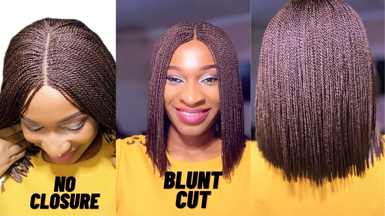 Download How to do blunt cut braids without closure || beginners friendly.