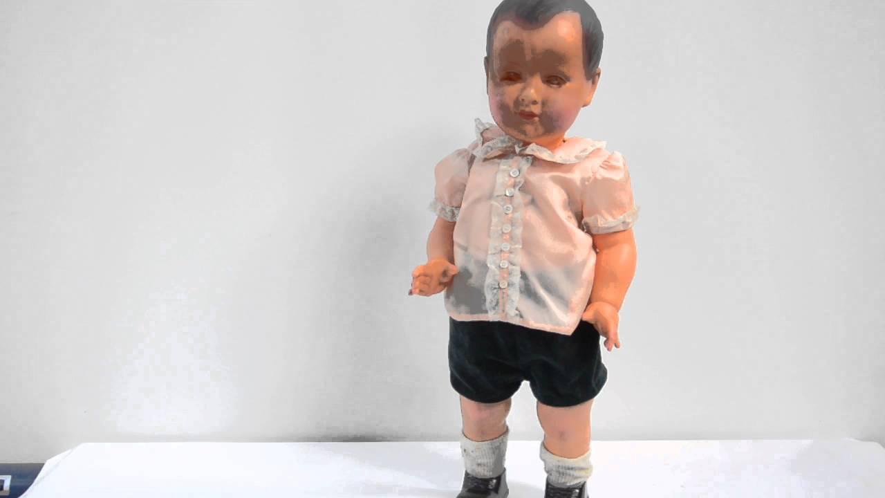annonce ebay ancien poupon automate marcheur petitcolin petit collin 57 1 2 rare. Black Bedroom Furniture Sets. Home Design Ideas