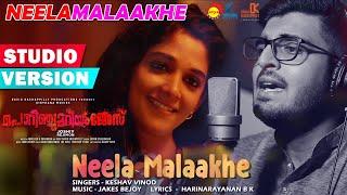 Neela Maalakhe Studio Version Porinju Mariyam Jose Joshiy Joju George Nyla Usha Jakes Bejoy