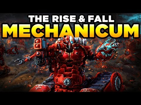 THE RISE & FALL OF THE MECHANICUM OF MARS | WARHAMMER 40,000 Lore [Mechanicus History]