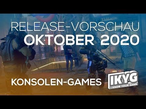 Games-Release-Vorschau - Oktober 2020 - Konsole