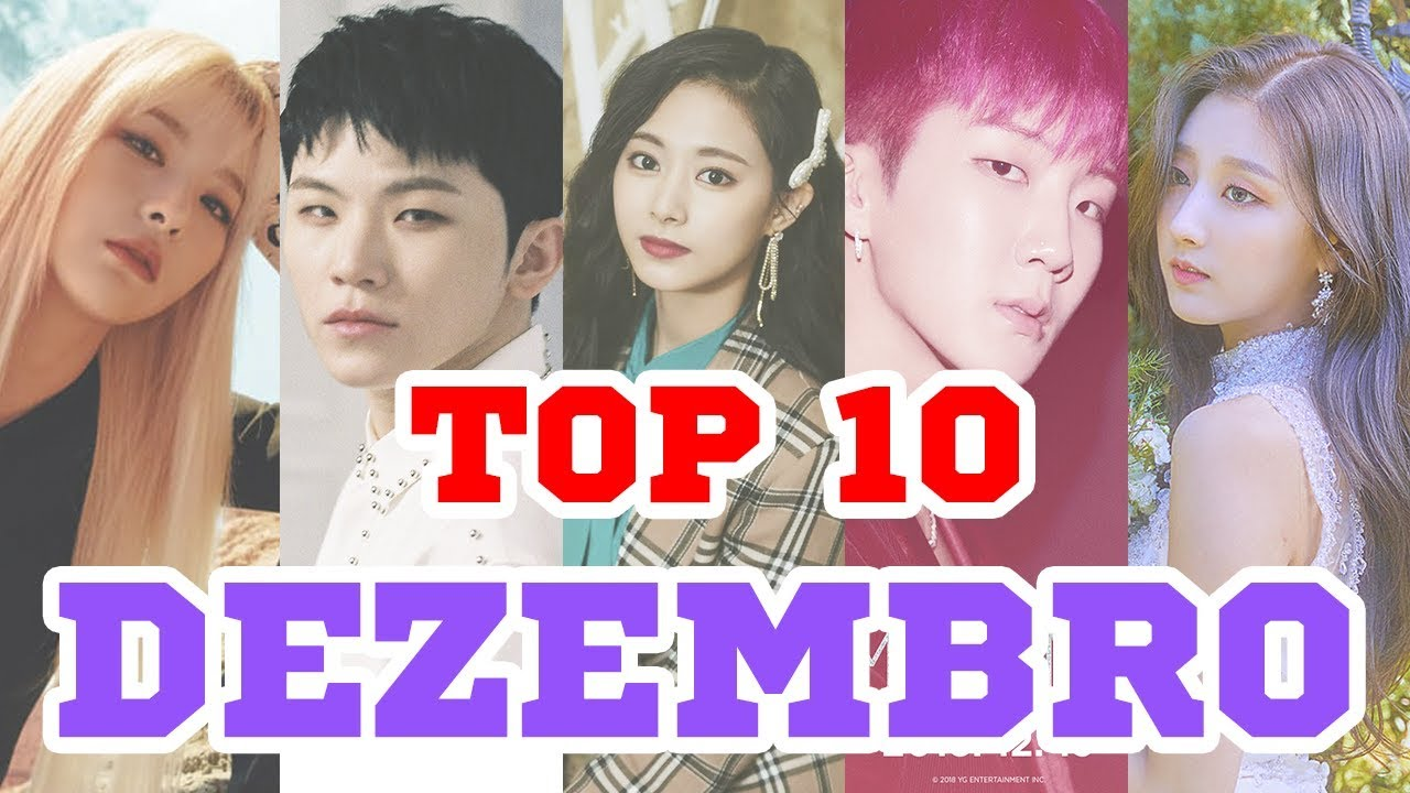 Top 10 K Pop Music Videos Dezembro 2018 Youtube