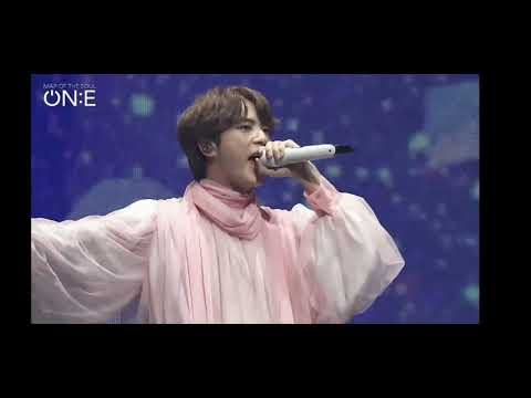 Moon Jin BTS 2020 ON:E concert 2nd day