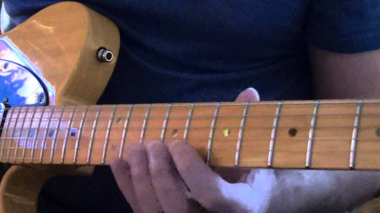Guitar Lesson Eagles Try And Love Again Intro Youtube