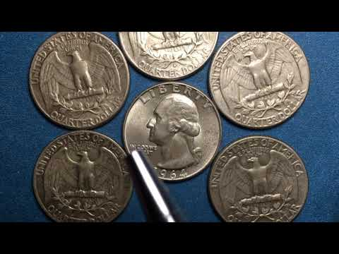 1964 Valuable US Quarters - How Much Are They Worth