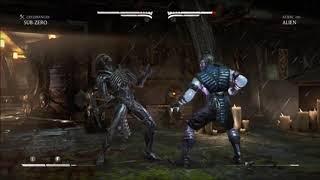 Mortal Kombat XL Sub Zero V Alien