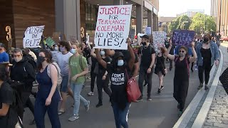 Hundreds march through Boston to protest police brutality