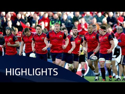 Munster Rugby v Toulouse (QF4) – Highlights – 01.04.2017