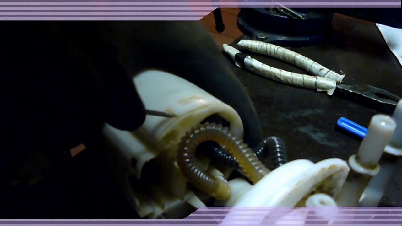 как извлечь, разобрать,топливный насос установленный в баке BYD F3