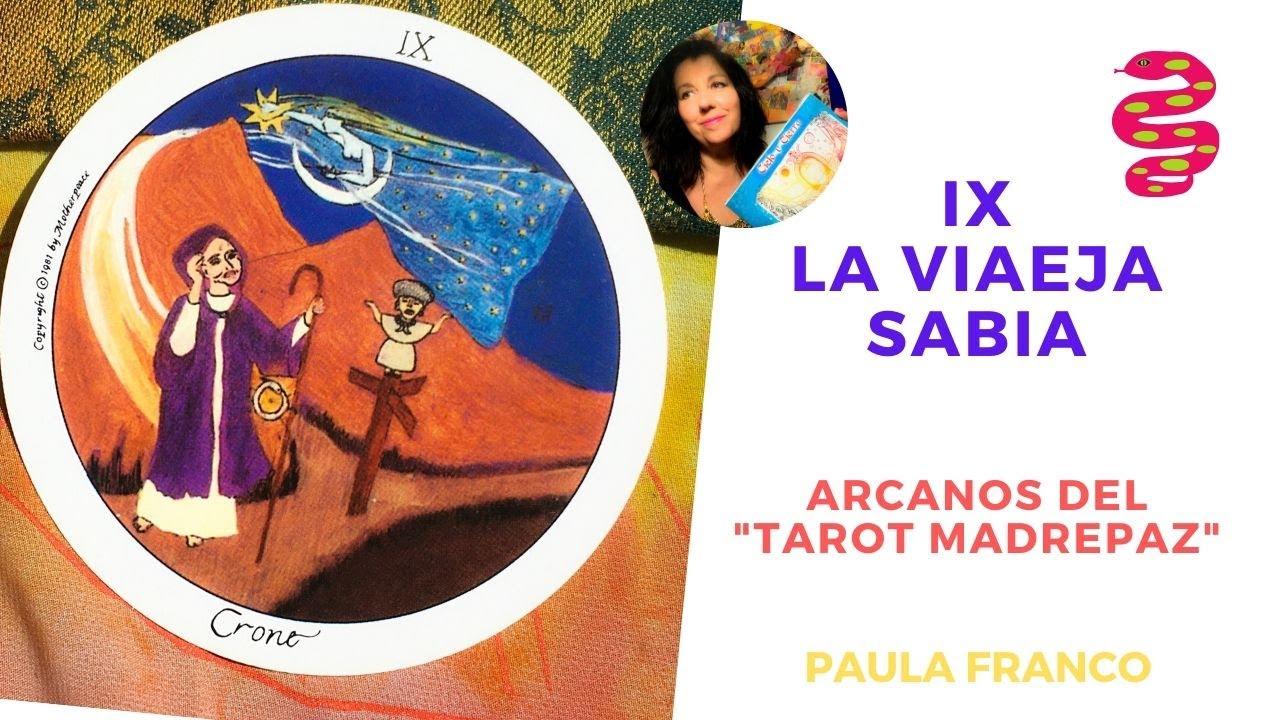 Que significa el Arcano de la Vieja Sabia del Tarot Madre Paz? Chamanismo Femenino Y Magia