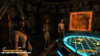Fallout New Vegas - GANNON FAMILY TESLA ARMOR - Remnants Bunker