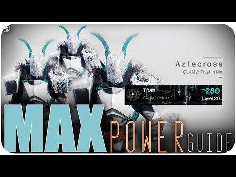 Max Power Level Guide Destiny 2   Get Raid Ready