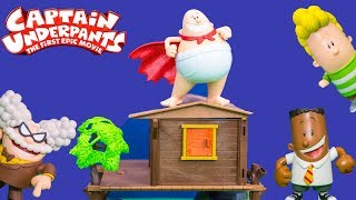 Captain Underpants' Professor Visits Harold And George's Treehouse