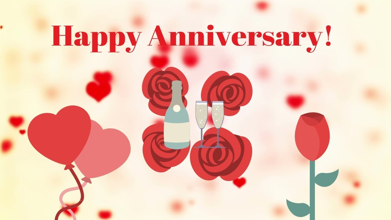 Happy Wedding Anniversary Wishes Romantic Song Video Free Hd Whatsapp Wedding Status Youtube