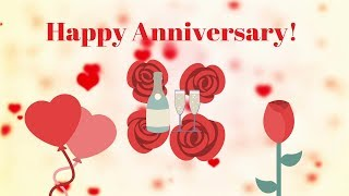 ❤️❤️❤️Happy Wedding Anniversary Wishes - romantic song video - FREE HD Whatsapp Wedding Status❤️❤️❤️