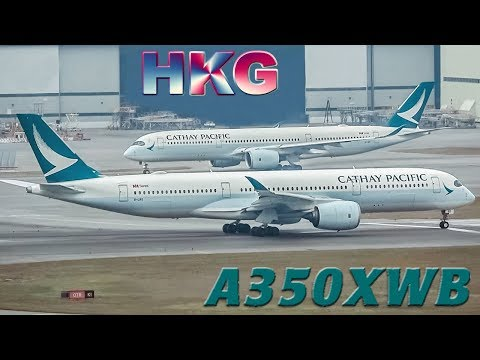 AIRBUS A350XWB of CATHAY PACIFIC