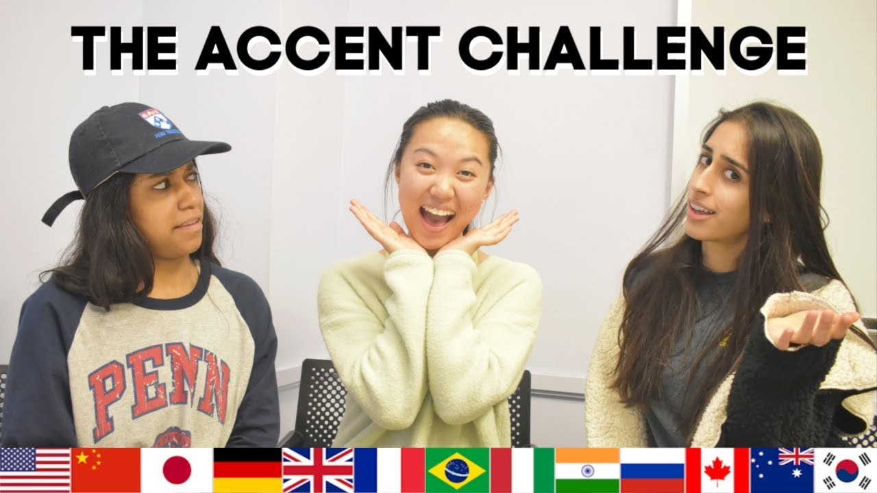 Image result for fun accent challenge