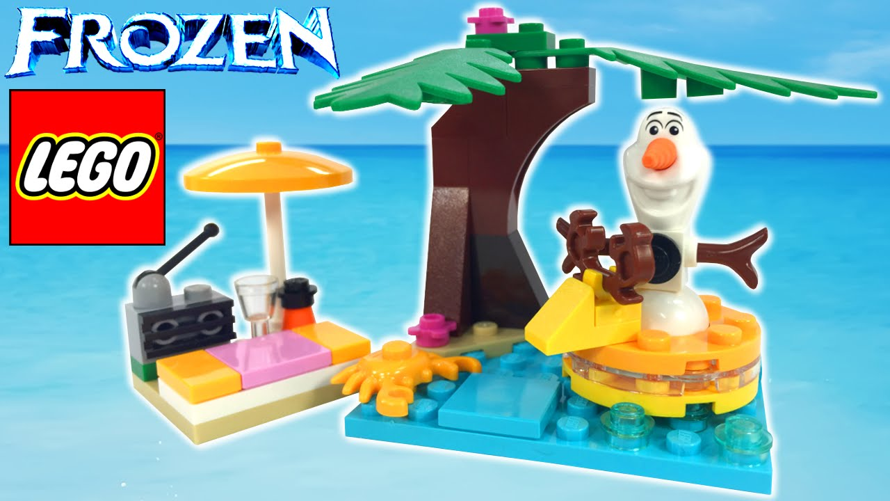 LEGO Disney Frozen Olaf's Summertime Fun 30397 Review - BrickQueen