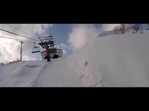 One day snowboard at GALA YUZAWA Japan ガーラ湯沢スキー場 新潟県湯沢町 日本