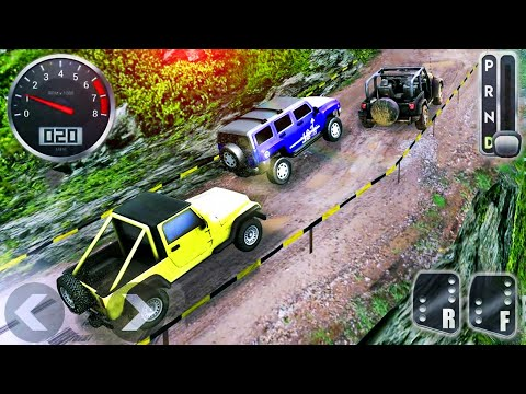 jeep-offroad-suv-adventure-simulator---4x4-hammer-mountain-racing---android-gameplay
