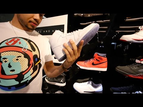 SNEAKER SHOPPING IN SANTA MONICA WITH...