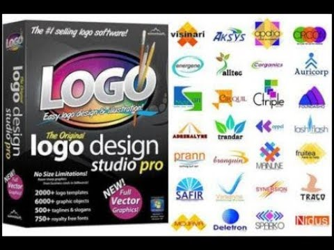 How To Make Logo With Logo Design Youtube