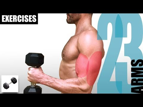 23 ARM EXERCISES YOU CAN DO WITH ONLY ONE DUMBBELL