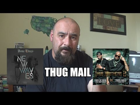 Bone Thugs New Waves and Thug Brothers 2 CD Unboxing #THUGMAIL