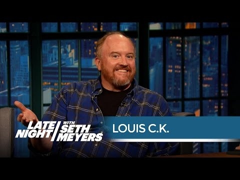 Louis C.K. Remembers Writing for Conan - Late Night with Seth Meyers