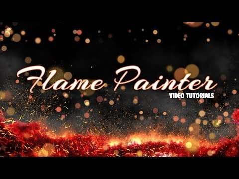 Creating New Art Document In Flame Painter, 1