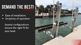 If You Demand the Best, Install a Hurricane Boat Lift