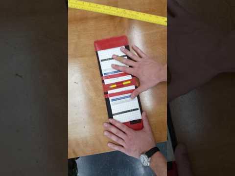 Scorecard Holder Prototype!