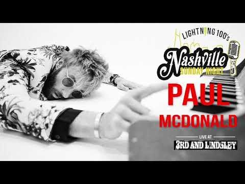Paul McDonald at Nashville Sunday Night on 91117