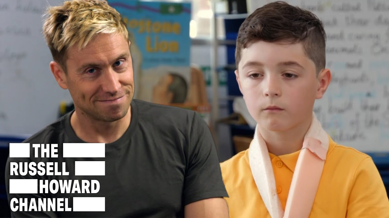 Russell Howard Talks to Kids About Growing Up | The Russell Howard Channel