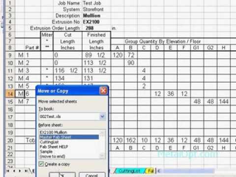 MetalOpt 1D optimizer cut list program