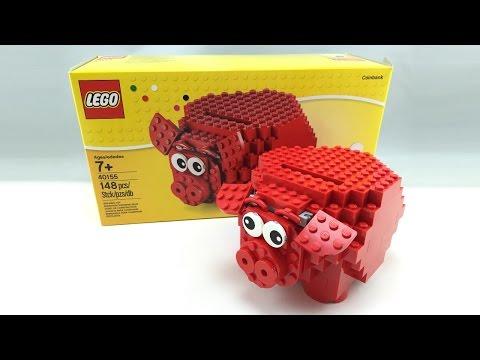 LEGO Piggy Bank set review! 40155
