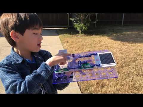 Snap Circuits;solar resistance meter