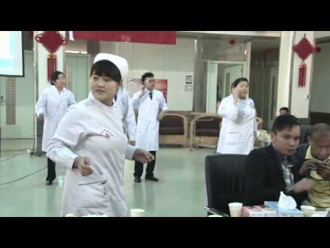 A Big Party of Doctors and Nurses on Chinese National Day