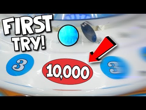 EASIEST JACKPOT ARCADE GAME EVER!    10,000 Tickets For $25