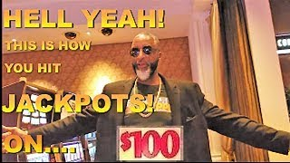 $200 A SPIN LIVE PLAY| JACKPOT|ALL $100 SLOT MACHINE PLAYS!