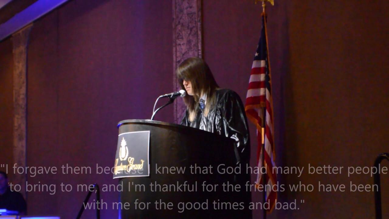 Valedictorian Speech at 2017 Divine Academy Graduation