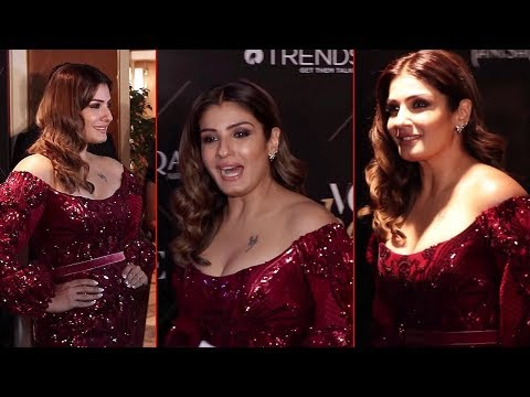 Raveena Tandon LOOKS Gergeous At Red Carpet Of Vogue Beauty Awards 2018