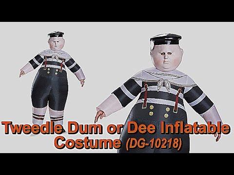 Tweedle Dum or Tweedle Dee // INFLATABLE COSUTME