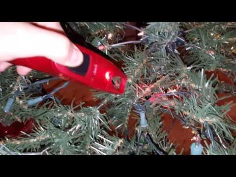 Pre-lit Christmas Tree repair Hack