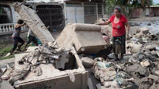 HONDURAS EN CRISIS: EL ALCALDE DE LA LIMA ASEGURA QUE LOS DAMNIFICADOS NO ESTÁN DESAMPARADOS!!!